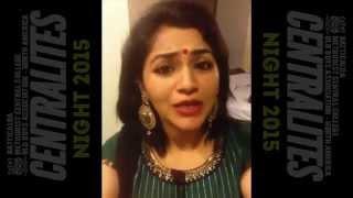 Download Hindi Video Songs - Centralites Night 2015 with Maalavika Sundar