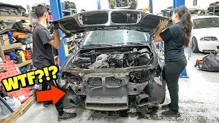 THEY MESSED UP! Rebuilding A Wrecked BMW E46 (Part 4)