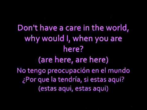 Never Let You Go (Español / Ingles) - Justin Bieber