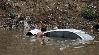 مقتل 24 شخصا في اليمين جراء الأمطار الغزيرة   15-4-2016