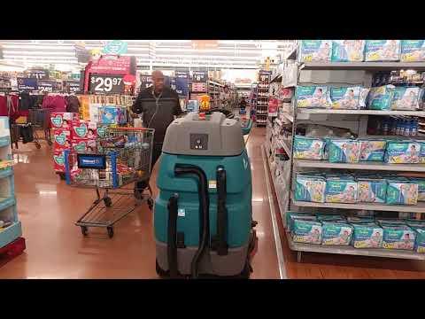 Robotic floor scrubber part 2