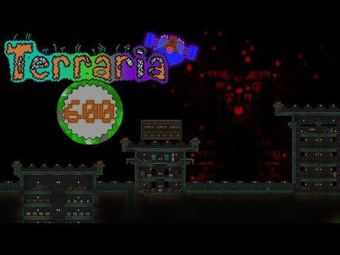 Terraria Part 600  - LET'S BUILD AN END TO TERRARIA