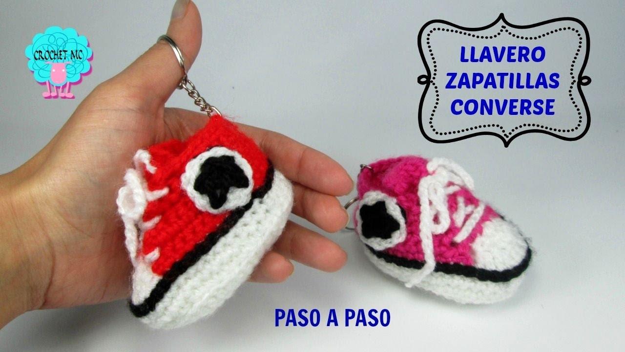 llavero zapatilla converse