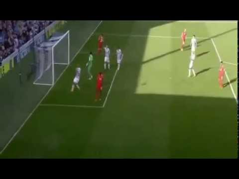 Mario balotelli miss open goal Liverpool vs Qpr 3-2 19/10/14 HD