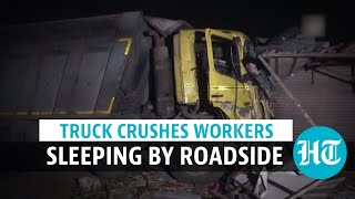 15 workers killed in Surat after being run over by truck; PM expresses grief