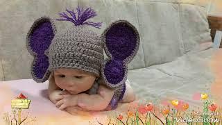 Newborn Elephant Outfit/Newborn Elephant Costume/Newborn Halloween Costume/Baby Elephant Outfit