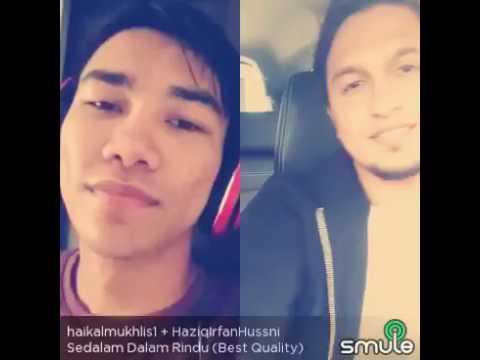 Haikal Azman Cover Sedalam Dalam Rindu (Smule)(Duet)