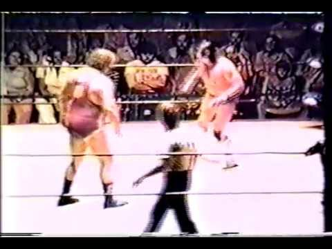 Gene Anderson & Swede Hanson  vs  Jay Youngblood & Skip Young  1978