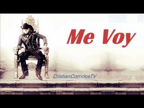 Gerardo Ortiz-Me Voy(Estudio 2011)[Entre Dios Y El Diablo]{Letra+Link De Descarga}