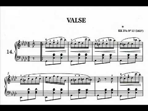 Waltz in D flat major KK IVa n° 13 Frederic CHOPIN [HD]