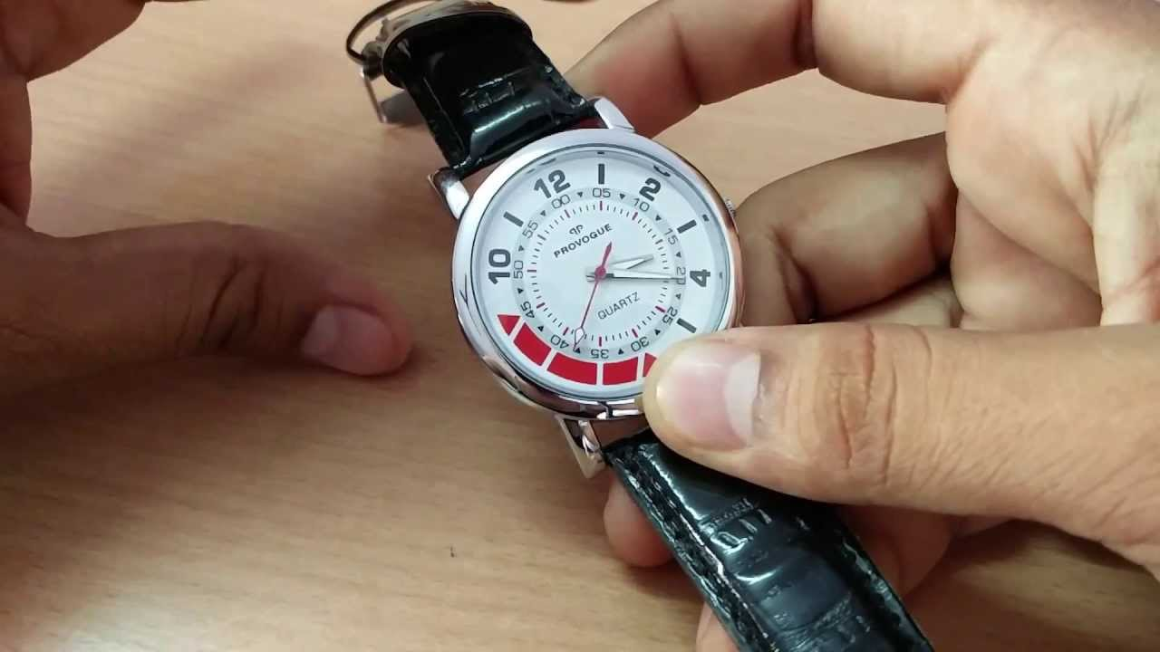 2aa1c65bf80 Provogue Gift watch from ICICI Bank - YouTube