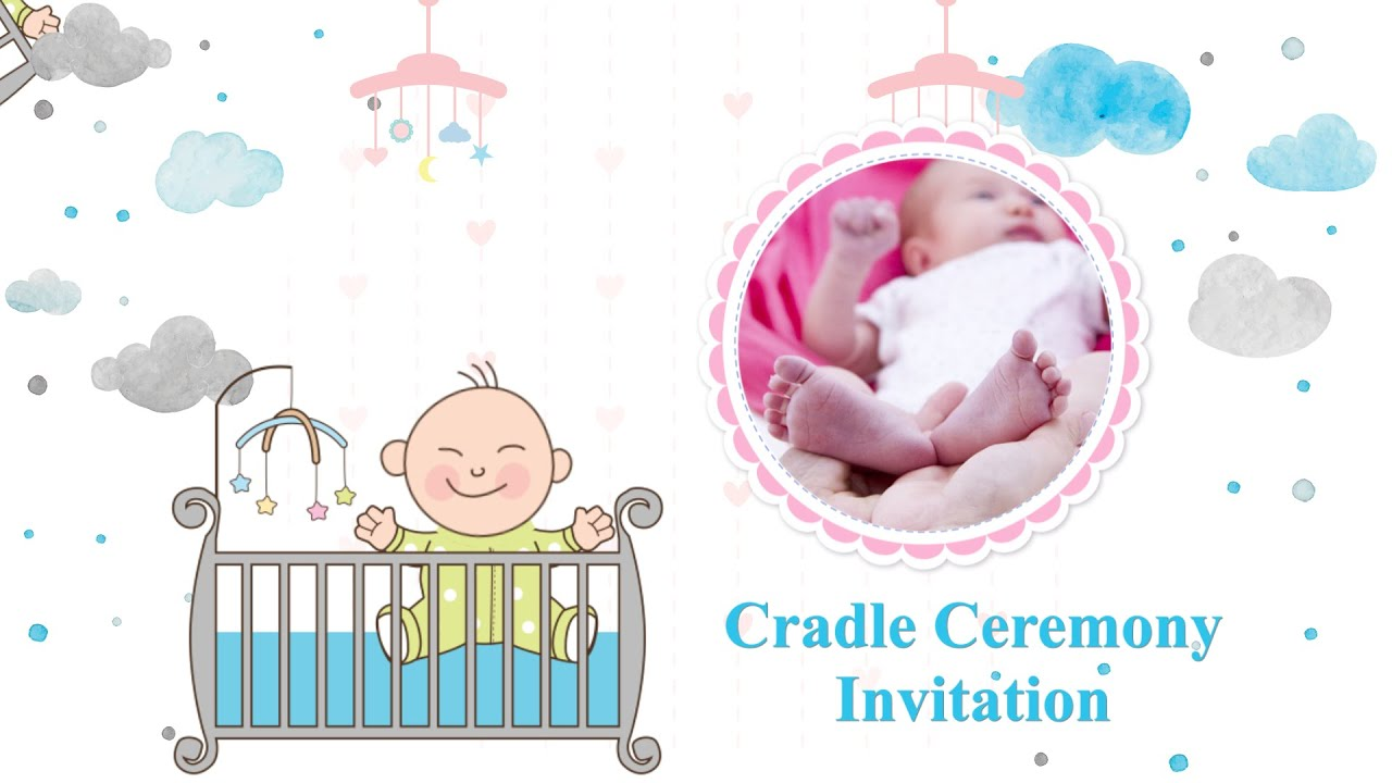 whatsapp cradle ceremony video invitations create download in just 30mins inviter com