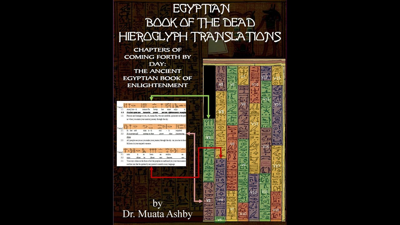 FREE Book Lecture Video Series: EGYPTIAN BOOK OF THE DEAD HIEROGLYPH