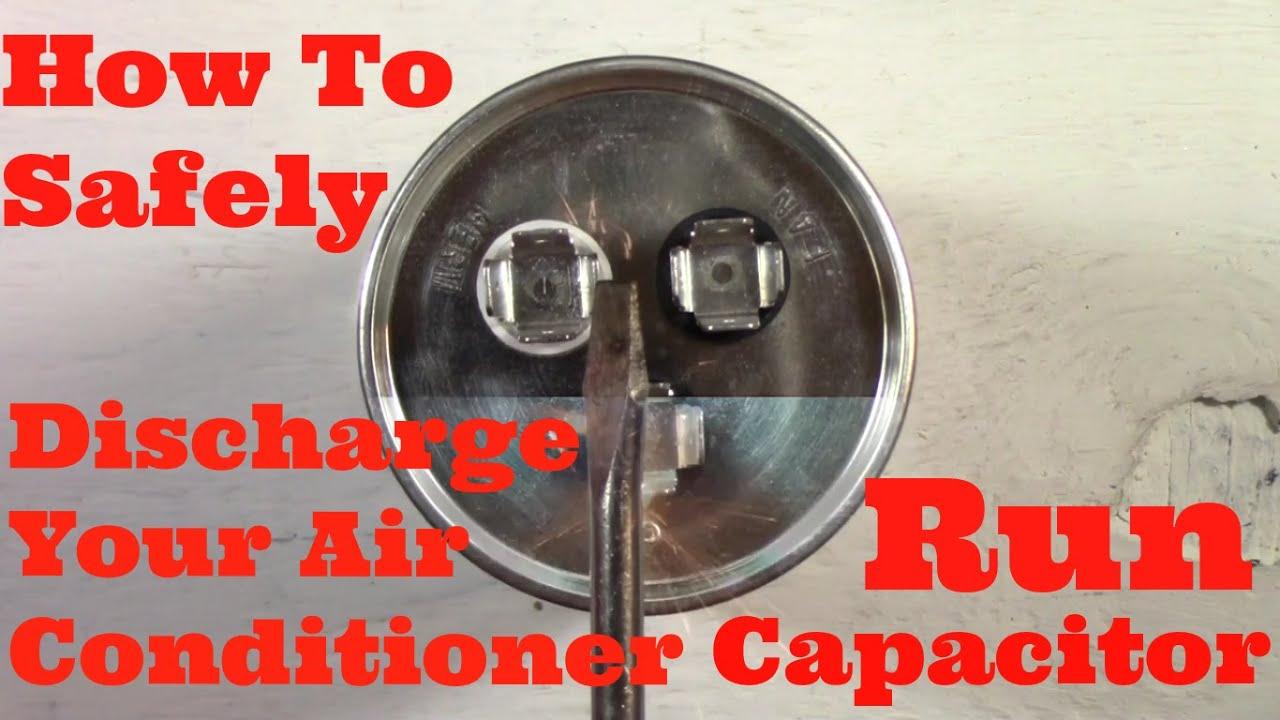 Air Conditioner Capacitor Broken