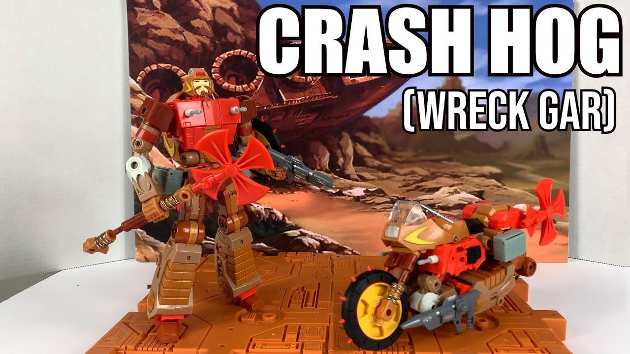 KFC E.A.V.I Metal Phase Six: Crashhog (Wreck Gar) Unboxing and Review By Enewtabie