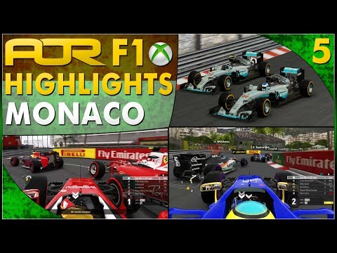 F1 2016 | AOR XB1 F1: S13 Round 5 - Monaco GP (Official Highlights)
