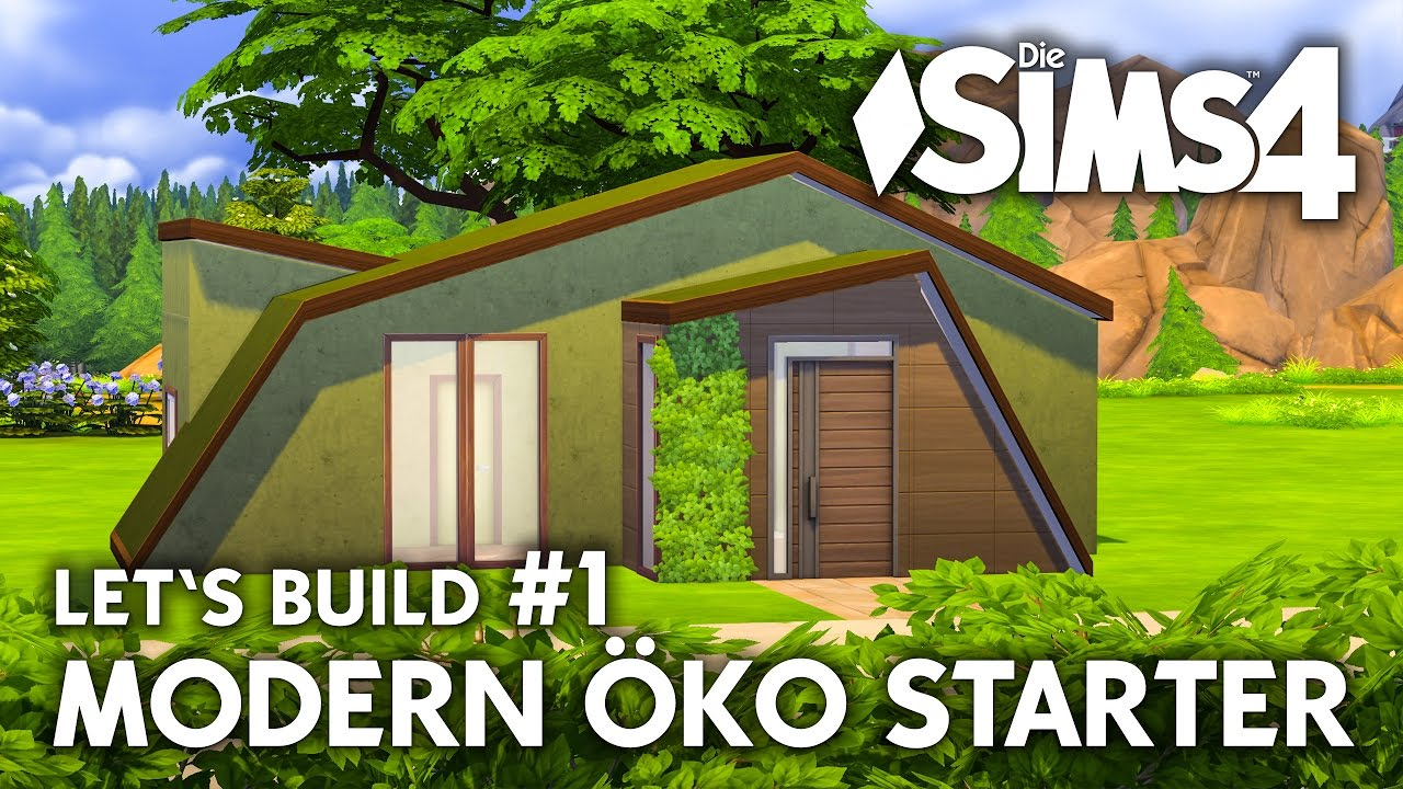 Die Sims 4 Haus Bauen Modern Oko Starter 1 Let S Build Deutsch