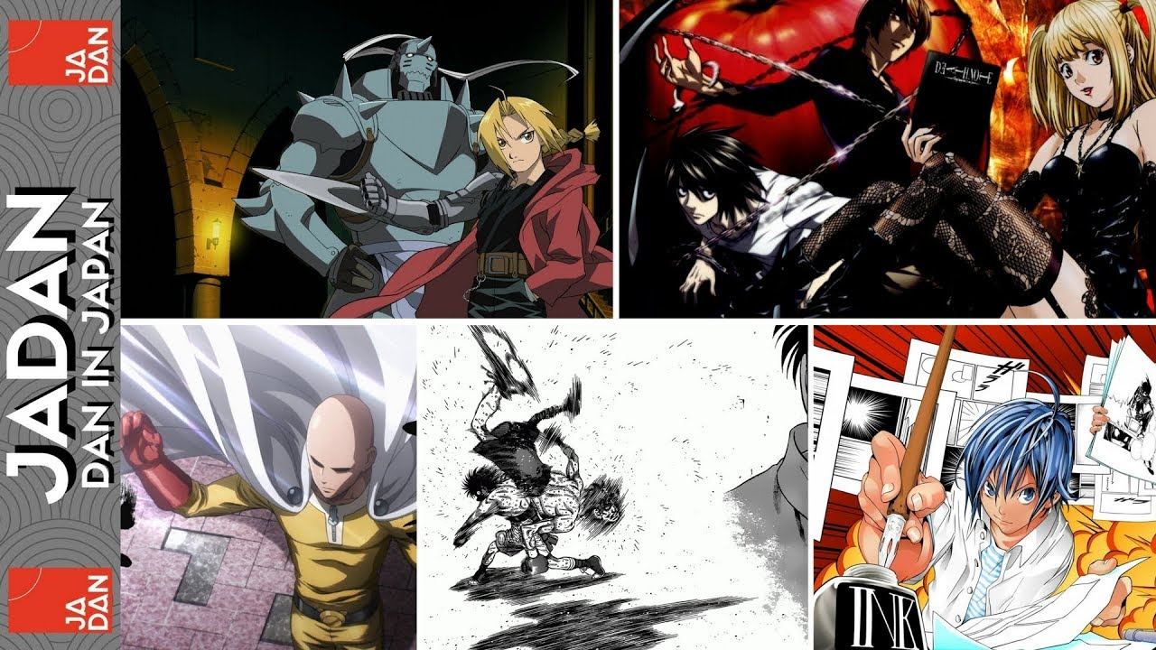5 japanese manga series that i love jadan dan in japan