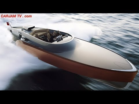 Rolls-Royce Aeroboat V12 Price $5+ Million Amazing Spitfire Boat Commercial CARJAM TV 2014