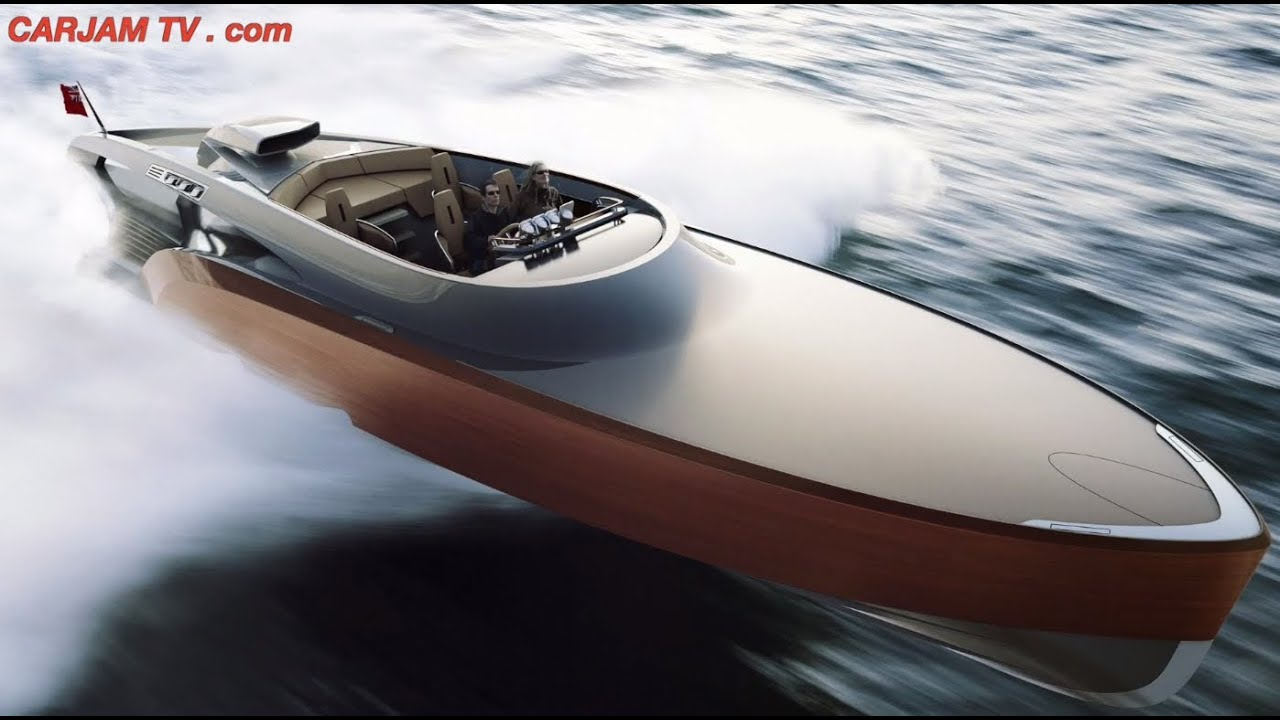 Rolls royce aeroboat v12 price 5 million amazing for Small motor boat cost