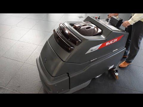 熟練オペレータと同様の洗浄作業を無人で実現するロボット床面洗浄機「Buddy」の海外販売を開始