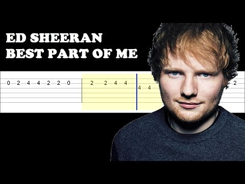 Ed Sheeran - Best Part Of Me ft YEBBA (Easy Guitar Tabs Tutorial) Mp3