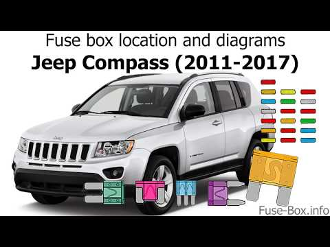 [DIAGRAM_38IU]  Fuse box location and diagrams: Jeep Compass (MK49; 2011-2017) - YouTube | 2013 Jeep Compass Fuse Box Diagram |  | YouTube
