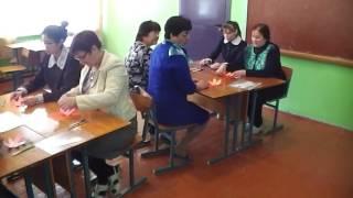 """Мастер класс """"Применение на уроках татарской литературы технологии критического мышления"""""""