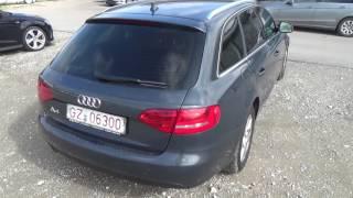 Auta z Niemiec #23/03/2017: Audi A4 /Thannhausen/