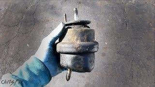 How to diagnose a bad motor mount or transmission mount