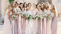 Chic Bohemian Bridesmaid Dresses Ideas