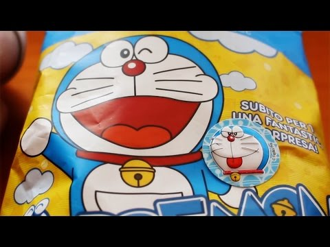 ASMR Doraemon Chips | ASMR Whisper and Crinkle Sounds