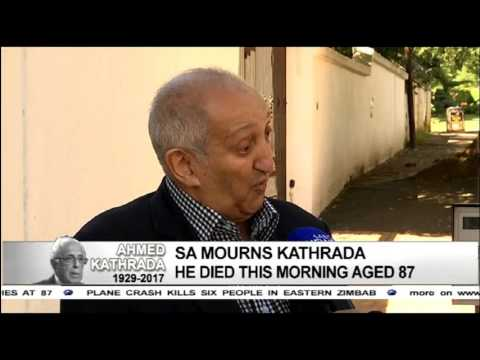Aziz Pahad pays tribute to Ahmed Kathrada
