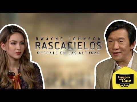 Chin Han y Hannah Quinlivan comparten sus desafíos en Rascacielos
