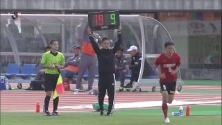 2018年5月3日(木)に行われた明治安田生命J2リーグ 第12節 金沢vs新...