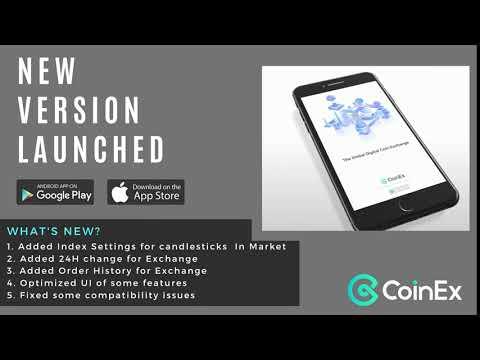 Coinex App New Version