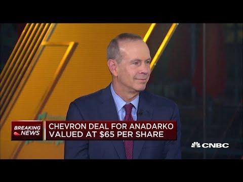 Chevron CEO Michael Wirth On The Anadarko Petroleum Acquisition