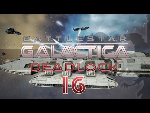 BATTLESTAR GALACTICA DEADLOCK #16 NUCLEAR CONVOY Preview - BSG Let's Play