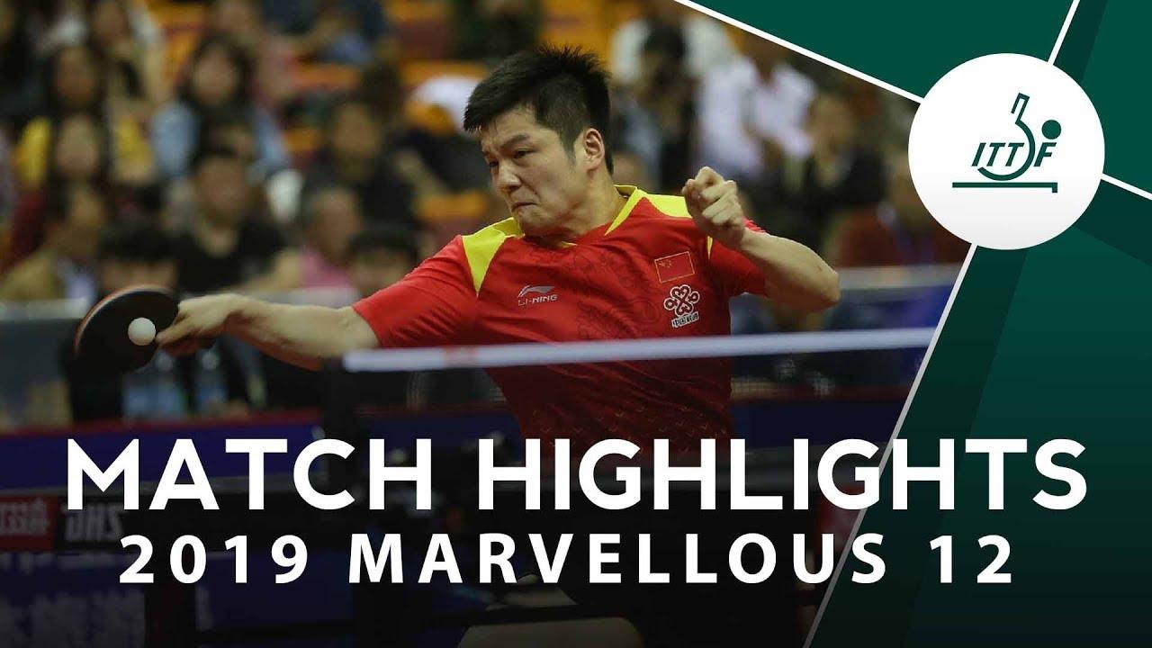 Download Fan Zhendong vs Xu Xin   2019 Marvellous 12 Highlights