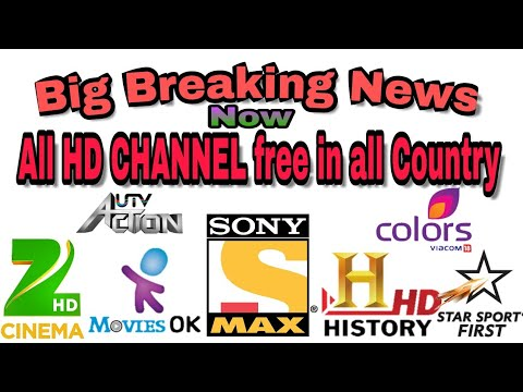 Big Breaking news all HD channel free to air now All Country..