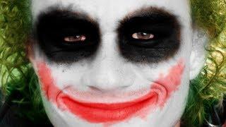 Tutorial Photoshop CS6 - Efeito Maquiagem do Coringa (Joker)