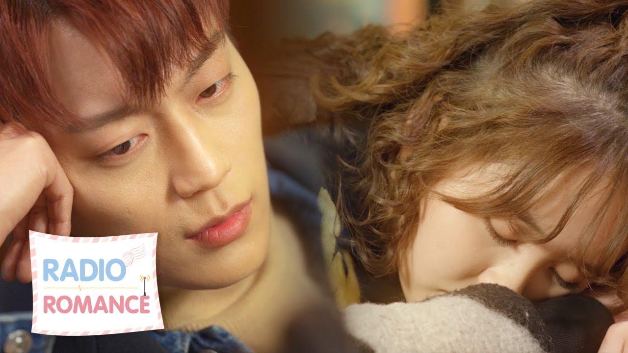 YoonDoojoon stares at sleeping beauty [Radio Romance Ep 5]