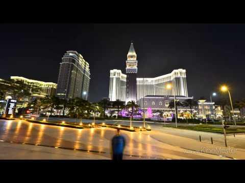 Macau's Night view & Timelapse
