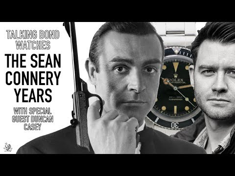 Talking Bond Watches Live - The Connery Years - Rolex Submariner 6538, Breitling Top Time & Gruen