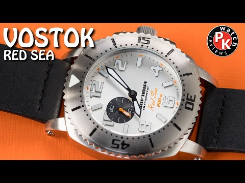 Vostok Amfibia Red Sea Watch Review