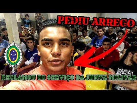 CONSCRITO RECLAMA DO PÉSSIMO ATENDIMENTO NA JUNTA MILITAR DE MANAUS