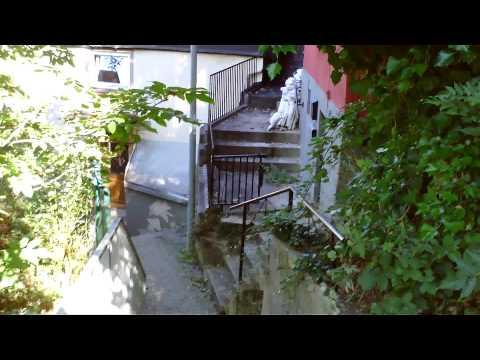 Altena Fußweg von der Burg Altena zur Innenstadt 29.09.2013