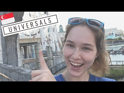Singapore: Universal Studios (aka BEST PLACE EVER) | KatChats