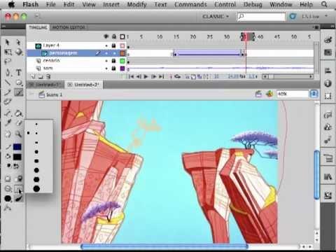 Aula de Animação 2D - Ferramentas básicas de Flash (19102012) - parte 01