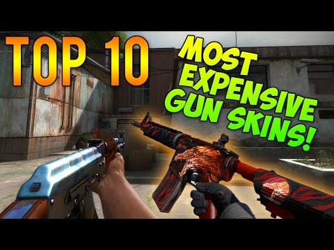 CS GO - Top 10 Most Expensive GUN Skins!